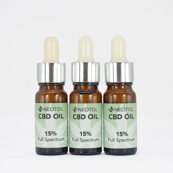 3er Pack Neotol CBD OIL 15%